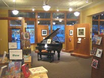 Front of Store with Piano